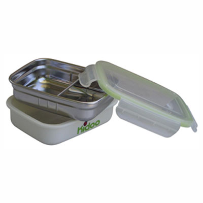 Leak Proof Partitioned Stainless Steel Food Storage Container